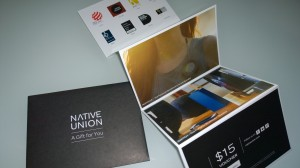 Native Union Voucher